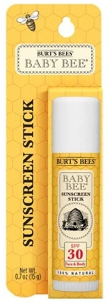 DROPPED: Burt's Bees - Baby Bee Sunscreen Stick Fragrance Free 30 SPF - 0.7 oz.