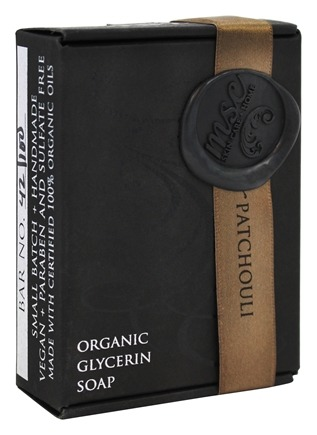 MSC Skin Care + Home - Artisan Organic Glycerin Soap Bar Earth and Patchouli - 5.7 oz.