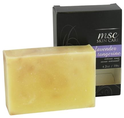 Metropolis Soap Co. - MSC Skin Care Artisan Bar Soap Lavender and Tangerine - 4.2 oz.