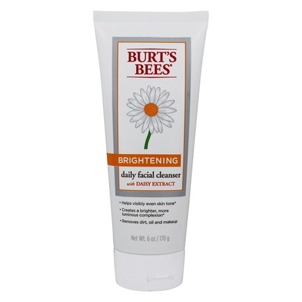 DROPPED: Burt's Bees - Brightening Daily Facial Cleanser - 6 oz.