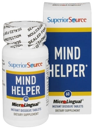 DROPPED: Superior Source - Mind Helper Instant Dissolve - 60 Tablets