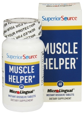 DROPPED: Superior Source - Muscle Helper Instant Dissolve - 60 Tablets