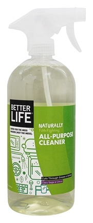 Better Life - What-Ever! Natural All-Purpose Cleaner Clary Sage & Citrus - 32 oz.