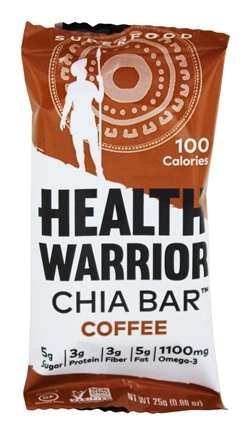 Health Warrior - Chia Bar Coffee - 0.88 oz.