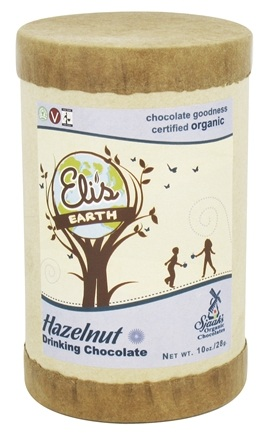 Sjaak's Organic Chocolate - Organic Drinking Chocolate Hazelnut - 10 oz.