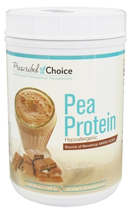 Prescribed Choice - Pea Protein Natural Chocolate - 1.1 lbs.