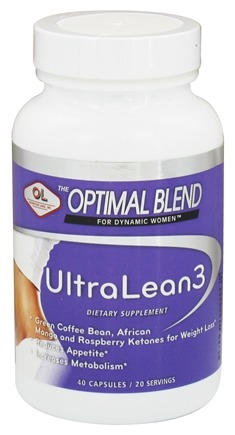DROPPED: Olympian Labs - Optimal Blend For Dynamic Women Ultra Lean 3 - 40 Capsules