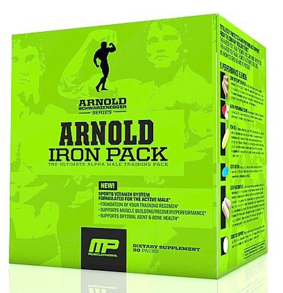 DROPPED: Muscle Pharm - Arnold Schwarzenegger Series Arnold Iron Pack - 20 Pack(s)