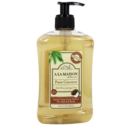A La Maison - Traditional French Milled Liquid Soap Pure Coconut - 16.9 oz.