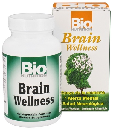 Bio Nutrition - Brain Wellness - 60 Vegetarian Capsules