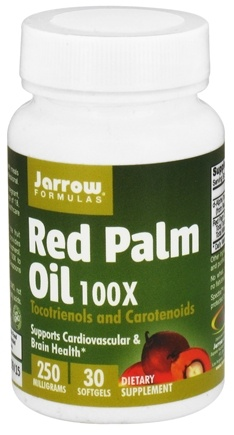 DROPPED: Jarrow Formulas - Red Palm Oil 250 mg. - 30 Softgels
