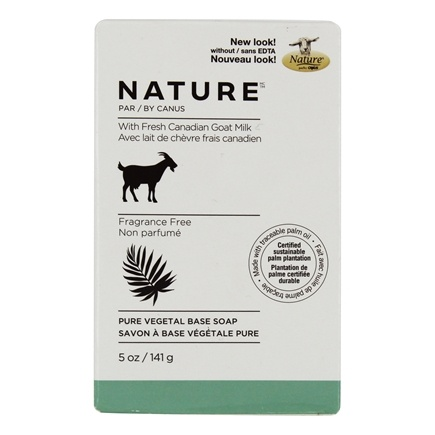 Canus - Goat's Milk Bar Soap Fragrance Free - 5 oz.
