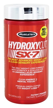 Muscletech Products - Hydroxycut SX-7 - 140 Capsules