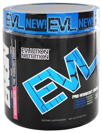 DROPPED: EVL Nutrition - ENGN Pre-Workout Engine 30 Servings Watermelon - 6.3 oz.