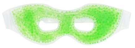 DROPPED: Soothera - Thermal Gel Beads Hot & Cold Therapy Eye Mask Bright Green