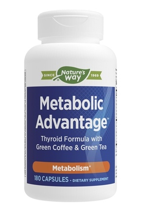 Enzymatic Therapy - Metabolic Advantage Thyroid Formula - 180 Capsules