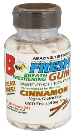 B Fresh - Breath Freshening Sugar Free Gum Cinnamon - 100 Piece(s)
