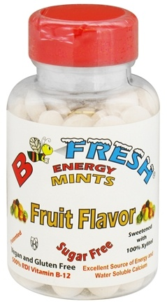 B Fresh - Breath Freshening Energy Mints Fruit Flavor - 150 Mint(s)