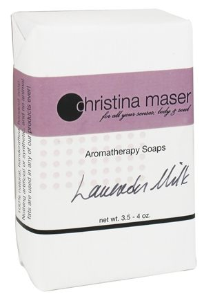 Christina Maser - Aromatherapy Bar Soap Lavender Milk - 3.5 oz.