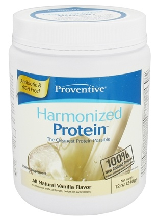 DROPPED: Proventive - Harmonized Protein All Natural Vanilla Flavor - 12 oz.