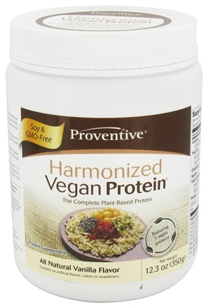 DROPPED: Proventive - Harmonized Vegan Protein All Natural Vanilla Flavor - 12.3 oz.