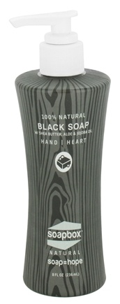 DROPPED: Soapbox Soaps - All Natural Liquid Hand Soap Black Soap - 8 oz.