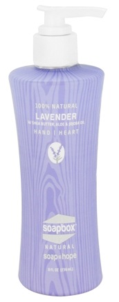 Soapbox Soaps - All Natural Liquid Hand Soap Lavender - 8 oz.