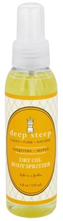 DROPPED: Deep Steep - Dry Oil Body Spritzer Tangerine-Melon - 4 oz.
