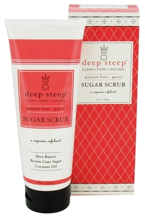 Deep Steep - Sugar Scrub Passion Fruit-Guava - 8 oz.