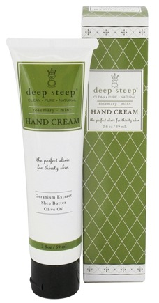 DROPPED: Deep Steep - Hand Cream Rosemary-Mint - 2 oz.