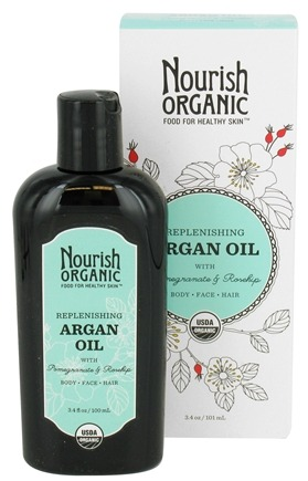 Nourish - Replenishing Organic Argan Oil - 3.4 oz. LUCKY PRICE