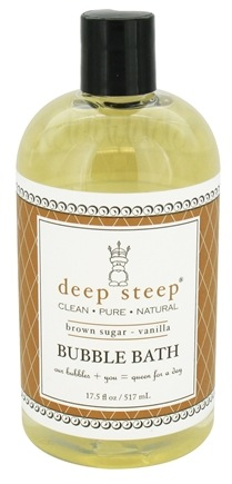 Deep Steep - Bubble Bath Brown Sugar-Vanilla - 17.5 oz.
