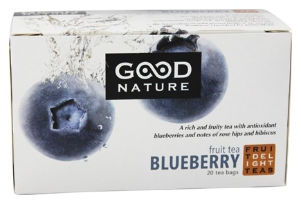 DROPPED: Good Nature Tea - Fruit Delight Tea Caffeine Free Blueberry - 20 Tea Bags
