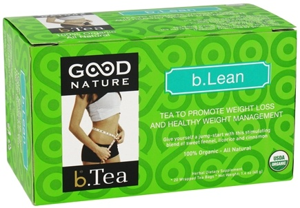 DROPPED: Good Nature Tea - Organic beTea b.Lean - 20 Tea Bags