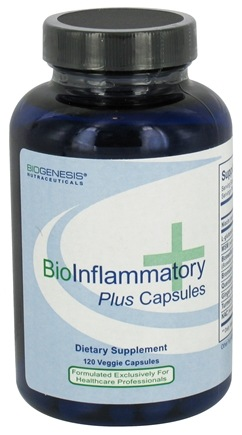 DROPPED: BioGenesis Nutraceuticals - BioInflammatory Plus - 120 Vegetarian Capsules