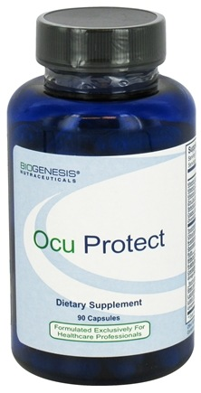 DROPPED: BioGenesis Nutraceuticals - Ocu Protect - 90 Capsules CLEARANCE PRICED