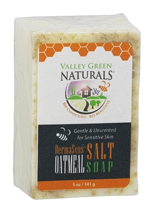 Valley Green Naturals - DermaSens Oatmeal & Himalayan Salt Blend Bar Soap - 5 oz.