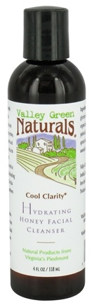 DROPPED: Valley Green Naturals - Cool Clarity Hydrating Honey Facial Cleanser - 4 oz.