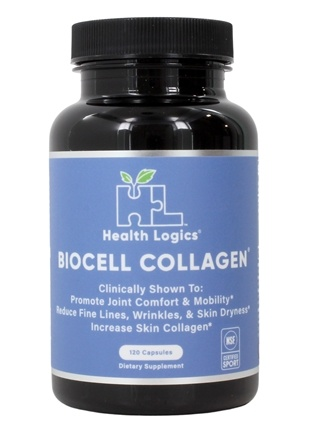 Health Logics - BioCell Collagen Joint and Skin Care - 120 Capsules