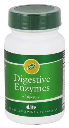 DROPPED: 4Life - Digestive Enzymes - 90 Vegetarian Capsules