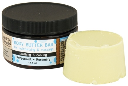 DROPPED: Biggs & Featherbelle - Body Butter Bar Peppermint & Rosemary - 2.5 oz.