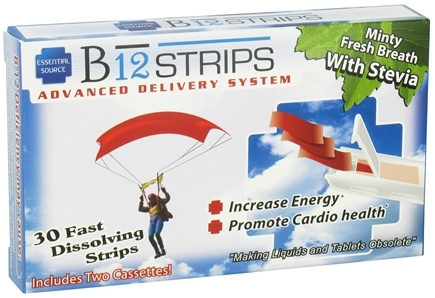 DROPPED: Essential Source - B12 Strips Advanced Delivery System Minty Fresh Breath 1000 mcg. - 30 Strip(s)