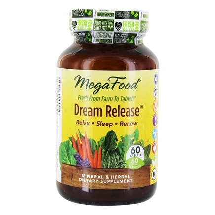 MegaFood - Dream Release - 60 Tablets
