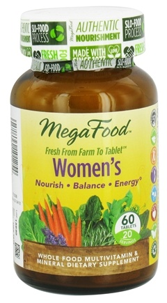 DROPPED: MegaFood - Women's Multivitamin - 60 Tablets