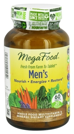 DROPPED: MegaFood - Men's Multivitamin - 60 Tablets