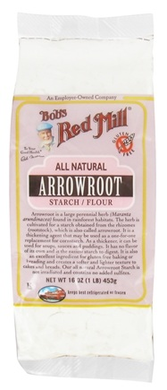 Bob's Red Mill - Gluten Free Arrowroot Starch Flour - 16 oz.