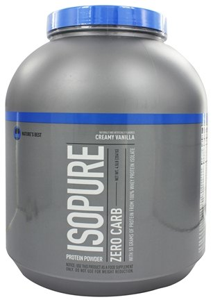 Nature's Best - Isopure Perfect Zero Carb Creamy Vanilla - 4.5 lbs.