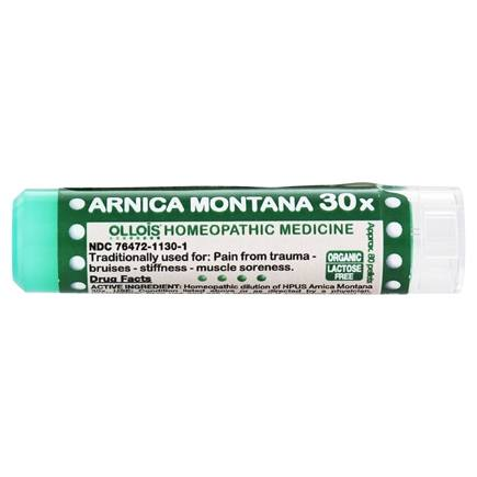 DROPPED: Ollois Homeopathic Medicine - Arnica Montana 30 X - 80 Pellets