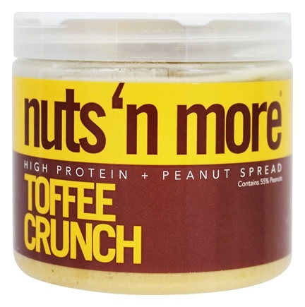 Nuts N More - Toffee Crunch Peanut Spread - 16 oz.