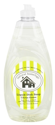 Natural HomeLogic - Liquid Dish Soap Citrus Grove - 24 oz.